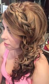 prom hairstyles side curls prom hairstyle to the side 2 prom side curly hairstyle color odmalicka