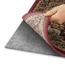 amazon com area rug pad with grip tight technology 9x12 non