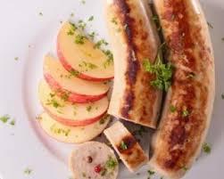 cuisiner le boudin blanc recette de boudin blanc aux pommes à la plancha