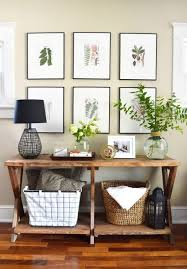 Entry Way Decor Ideas Best 25 Console Table Styling Ideas On Pinterest Console Table