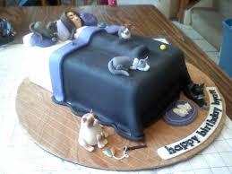 Cat Lady Birthday Cake Cakecentral Cat Birthday Cake Pics Cat