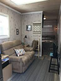 shipping container converted into a 320 square feet tiny house in