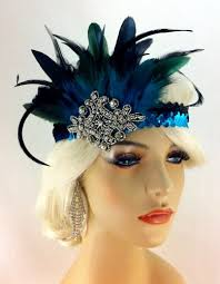 gatsby headband flapper headband 1920 s headpiece deco great gatsby
