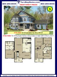 hyde park ts 16 4 2 5 two story plan 2497 sf rochester home