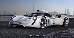 real futuristic cars here u0027s how you make a futuristic porsche render superunleaded com