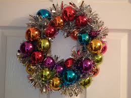 how to make a christmas bauble wreath youtube