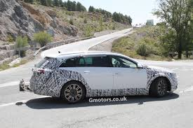vauxhall insignia estate 2014 vauxhall opel insignia country tourer spied