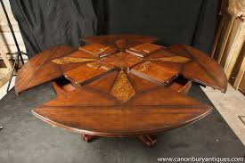 expanding round table plans transformer furniture db fletcher