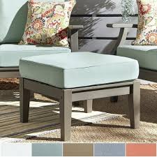 outdoor ottoman cushion replacement ottoman outdoor cushions greening outdoor daybed with ottoman