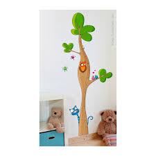 stickers savane chambre bébé toise arbre sticker chambre bébé enfant série golo