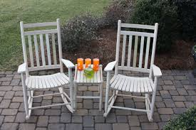 Rocking Chair Seat Repair Dixie Seating 3 Piece Slat Seat Porch Rocking Chair And
