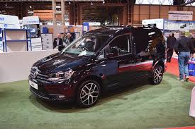 volkswagen car black the vw caddy black edition at the cv show stable vehicle contracts