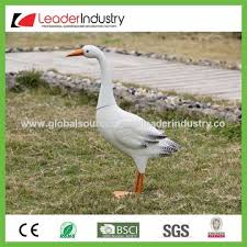 china metal birds animal goose figurine from quanzhou manufacturer