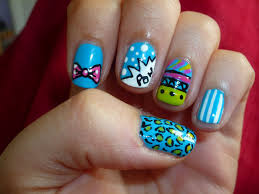 love nail art designs how you can do it at home pictures