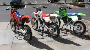 125 motocross bikes three new 1987 125 u0027s lined up old moto motocross forums