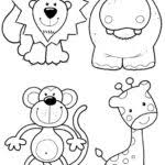 animal coloring pages preschoolers coloring pages kids