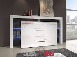 White Gloss Bedroom Drawers Modern Big Chest Of Drawers Riwiera Plus 2 With High Gloss And Led