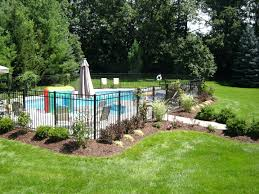 Landscaping Solar Lights by Swimming Pools Lap 25 Best Ideas About Pool Landscaping On
