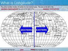 world map with latitude longitude lines map skills pinterest