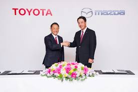 mazda made in japan news toyota and mazda deepen partnership with stock stakes us