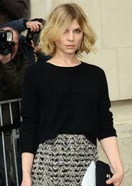 parisian bob hairstyle parisian cool clémence poésy wavy bobs bobs and messy bob hair