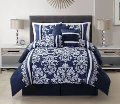 Black And White King Bedding Macys Blue And White Comforter Set Tags Blue And White Comforter