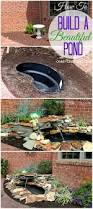 Backyard Water Fountain by Diy Backyard Pond And Landscape Water Feature Save A Lot Of Money