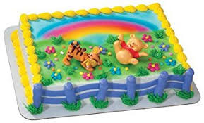 winnie the pooh cake topper rocking baby winnie the pooh tigger cake topper kit