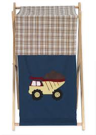 Baby Laundry Hamper by Sweet Jojo Designs Construction Collection Laundry Hamper Baby