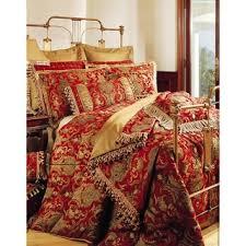 Red Bedding Sherry Kline China Art Red 6 Piece Comforter Set Free Shipping