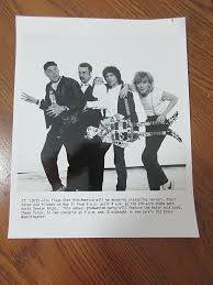Six Flags Dates 80 U0027s Cheap Trick Promo Photo Ad Six Flags Over Mid America Senior