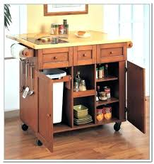 storage kitchen island kitchen island with trash can storage katecaudillo me