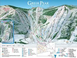 Colorado Ski Resort Map Every New York Ski Resort Trail Map Whiteface Gore Windam And