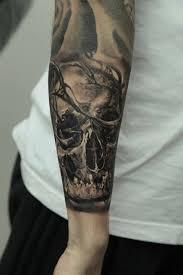 skull sleeve by dmitriy samohin design of tattoosdesign of