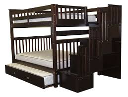 Queen Size Bunk Beds With Stairs Home Design Ideas - King size bunk beds