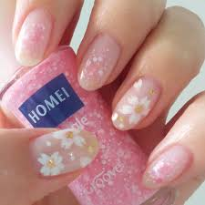 2017 cherry blossom spring nail art design inspiration ideas