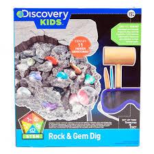 discovery kids rock u0026 gem dig kit