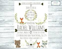 woodland baby shower invitations woodland baby shower printable