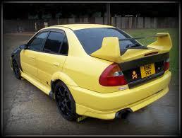 evo 3 spoiler mitsubishi evo accident damage buckingham classic car