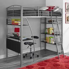 Dorm Room Shelves by Twin Loft Bed Metal Desk Storage Shelves Kids Teens Furniture Dorm