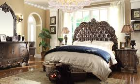 renaissance bedroom furniture 5 pc queen mary renaissance style king bedroom set with tufted