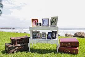 destination hawaiian wedding with travel u0026amp vintage theme in