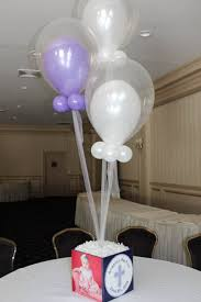 baptism centerpieces communions christenings balloon artistry