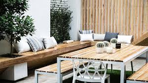 Outdoor Bench Seat Designs by Courtyard Design Gardenique