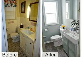fresh bathroom makeovers on a budget before and afte 13464