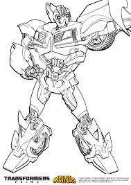 bumble bee transformer coloring printable coloring pages