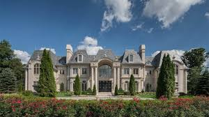french chateau homes 25 000 000 french chateau inspired mega mansion in new jersey