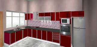 Cabinets In Kitchen Al Mijdaf Aluminium Factory