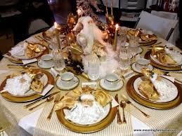 christmas table christmas table decorations
