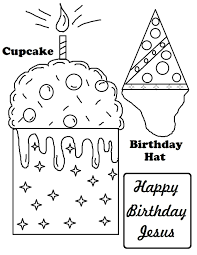 free printable happy birthday coloring pages kids